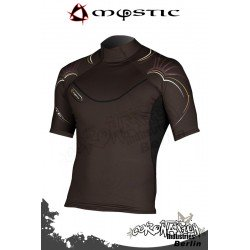Mystic Cure Heavy Rash Vest S/S - Brown