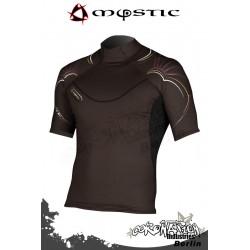 Mystic Cure Heavy Rash Vest S/S - Brown