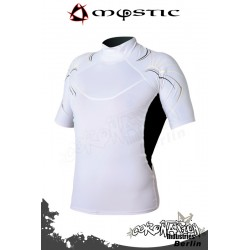 Mystic Cure Heavy Rash Vest S/S - White