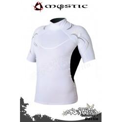 Mystic Cure Heavy Rash Vest S/S - White