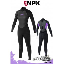 NPX femme combinaison neoprène Vamp SD 5/4/3 GBL - noir/Purple