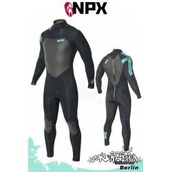 NPX Assassin SD 5/4/3 Neoprenanzug Schwarz