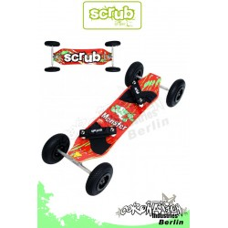 Scrub Mountainboard Monster Landboard ATB Blood Red