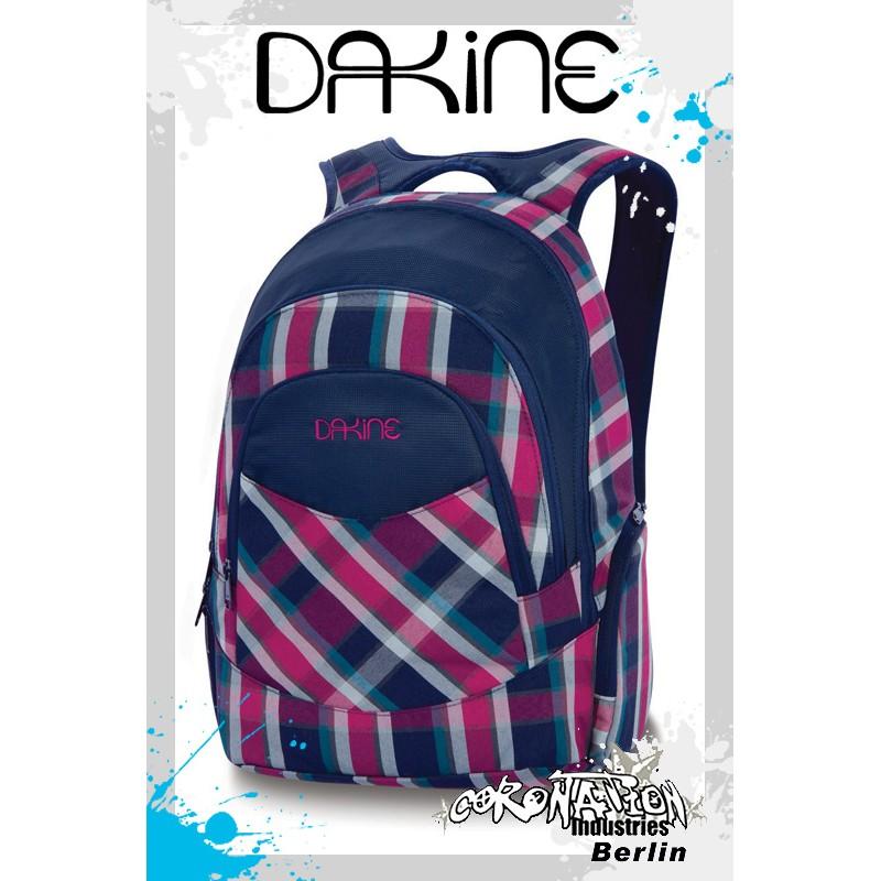 Dakine Prom Girls Navy Vivienne Plaid Schul & Laptop-Rucksack