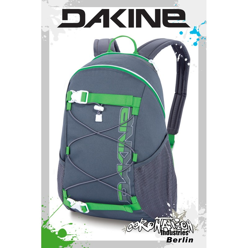 Dakine Wonder Girls Skate-Fashion-Street-Freizeit-Rucksack Charcoal 15L