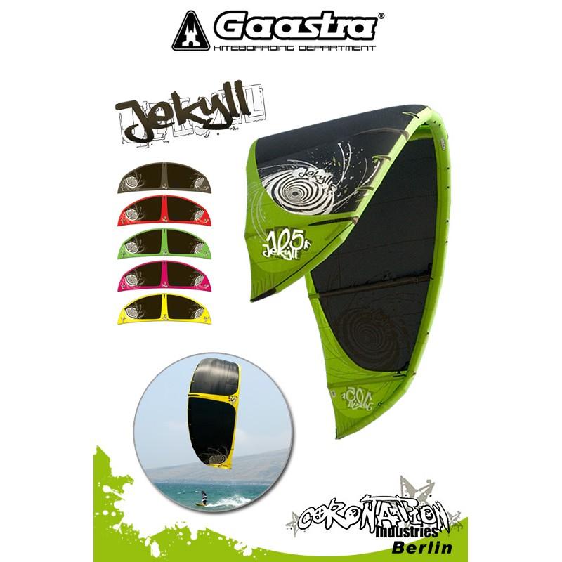 Gaastra Jekyll 2010 SLE Freeride Kite - 9qm mit Bar