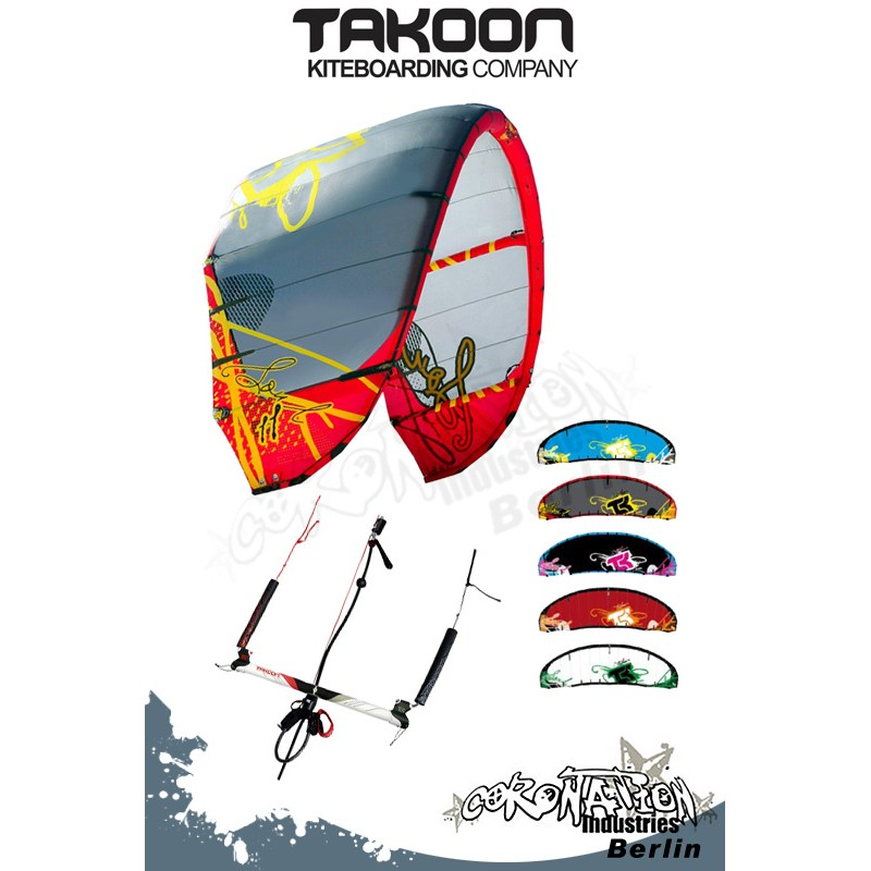 Takoon SOUL 2010 Plug and Play - One for All Kite 9qm Komplett