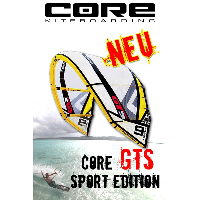 Core GTS Kite 2011 - Sport Edition - All In One Kite - 12qm