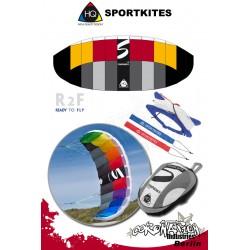 HQ Sportkites Powerkite Symphony 1.8 R2F Lava
