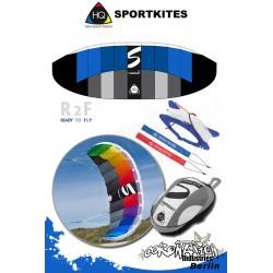 HQ Sportkites Powerkite Symphony 2.2 R2F Aqua