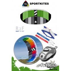 HQ Sportkites Powerkite Symphony 1.2 R2F Lime