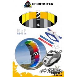 HQ Sportkites Powerkite Symphony 1.4 R2F Citrus