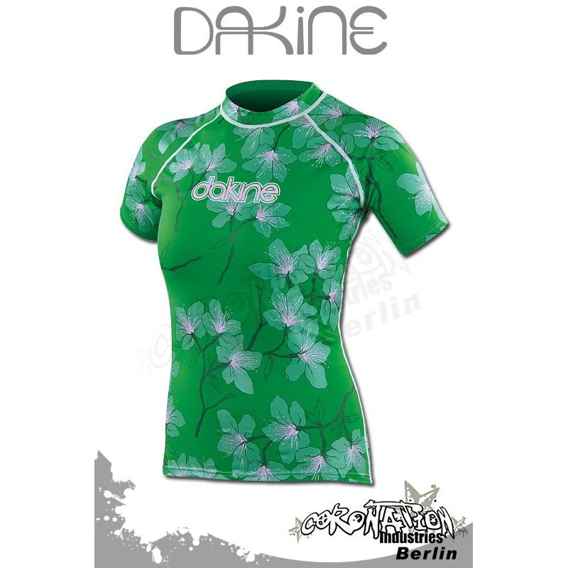 Dakine 2010 Frauen Rash Vest MIA FLORAL Green