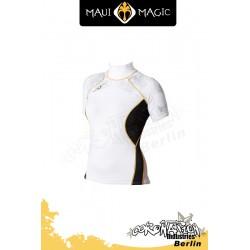 Maui Magic 2010 Frauen HANA Rash Vest S/S Yellow