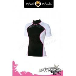 Maui Magic 2010 woman HANA Rash Vest S/S Pink