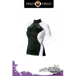 Maui Magic 2010 Frauen HANA Rash Vest S/S Purple