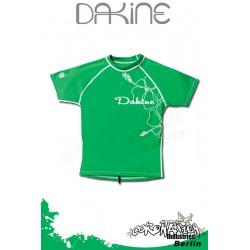 Dakine Frauen Rash Vest Leilani S/S Green