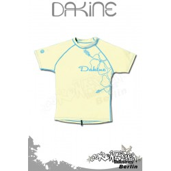 Dakine femme Rash Vest Leilani S/S Light Yellow