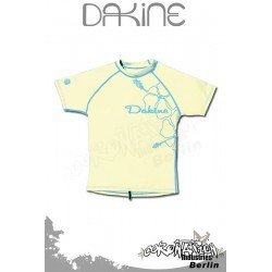 Dakine femme Rash Vest Leilani S/S Light Yellow