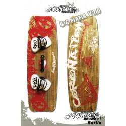 Coronation-Industries Big Mama V2 Holzkern Kiteboard 138x44