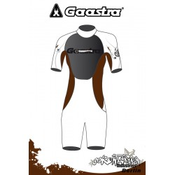 Gaastra Live Shorty 2/2mm femme combinaison neoprène Brown
