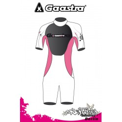 Gaastra Live Shorty 2/2mm Frauen Neoprenanzug Pink