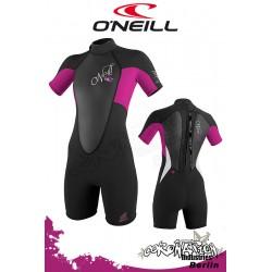 O'Neill Bahia Shorty 2/1 woman neopren suit Black/Astra