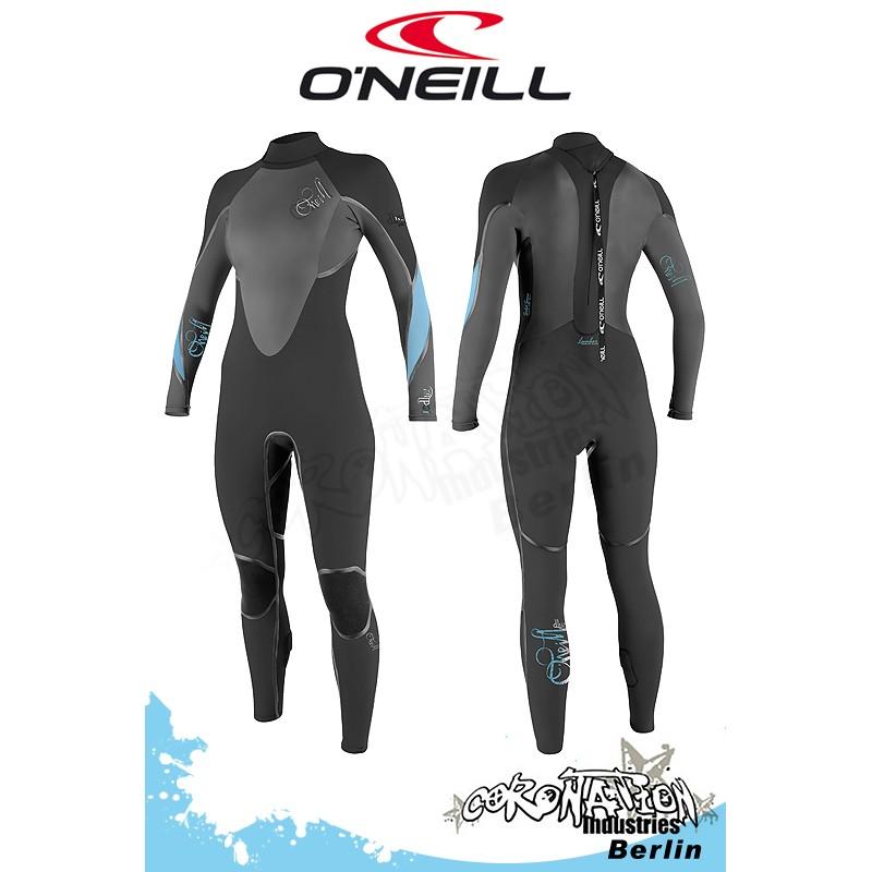 O'Neill D-Lux 3Q CT 5/3 Frauen Neoprenanzug Black/Aruba