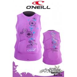 O'Neill femme Prallschutzweste Gooru Iris/Riv
