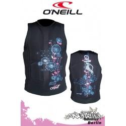 O'Neill femme Prallschutzweste Gooru Black/Neon