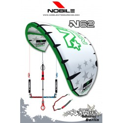 Nobile Kite N62 2009 11qm White/Green mit Bar