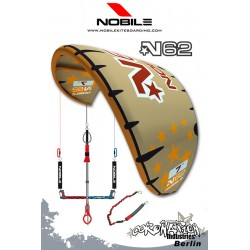 Nobile N62 2009 9qm Gold/Orange mit Bar