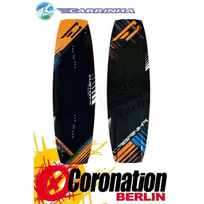 Cabrinha CUSTOM Kiteboard mit Sync Bindung