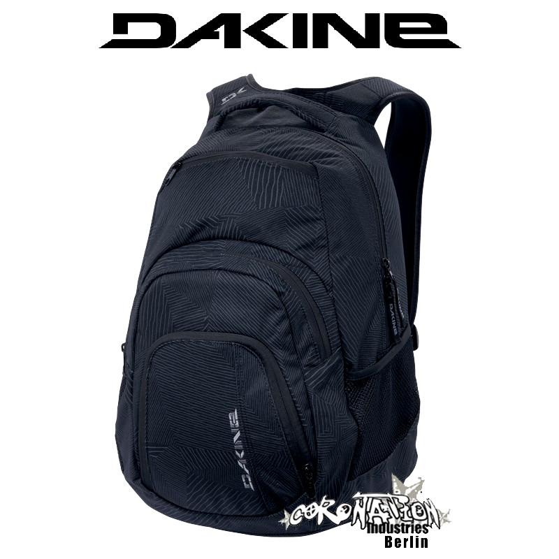 Dakine Campus-SM Schul-Sport-Street-Rucksack Black Patches