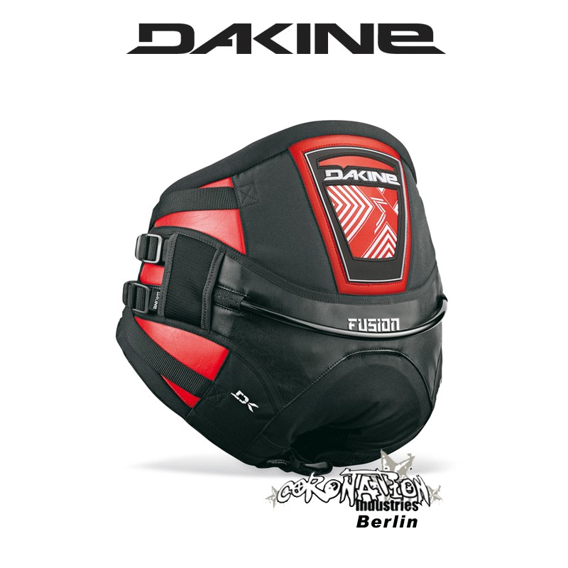 Dakine Fusion Kite-harnais culotte Red Black