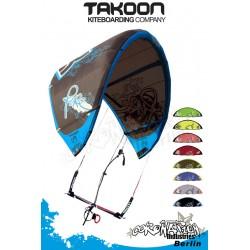 Takoon Kite Pure 2010 9qm Komplett mit Bar