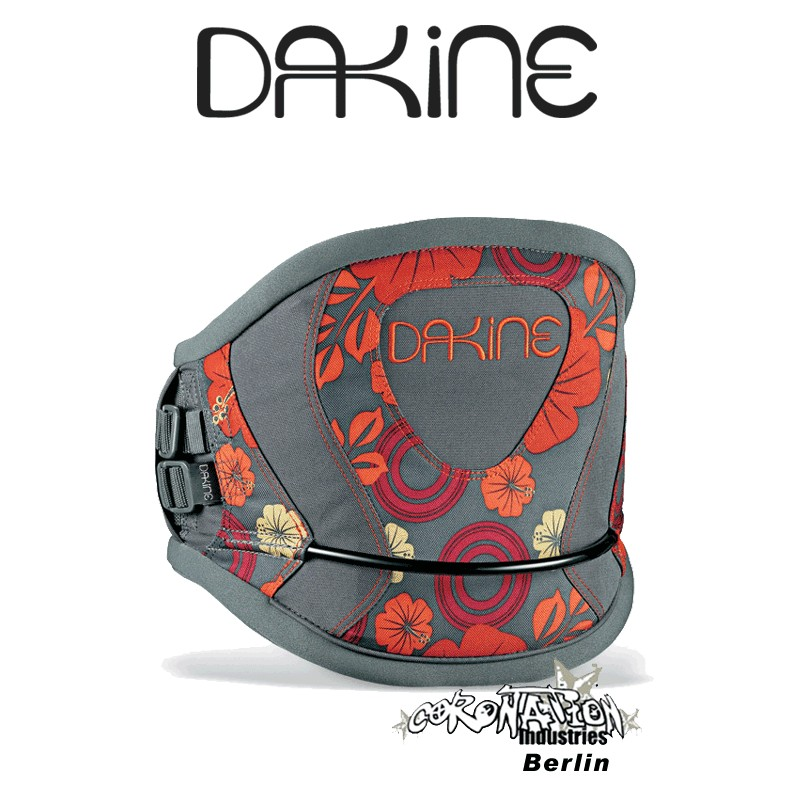 Dakine Wahine Girl-Frauen Kite-Hüfttrapez Charcoal