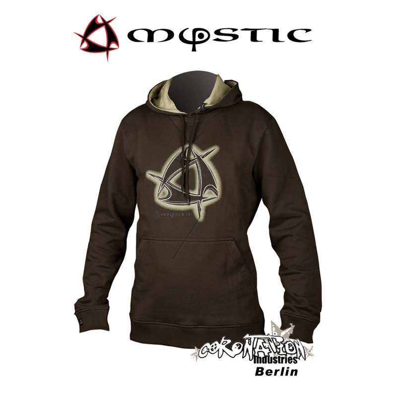 Mystic Hoody Clew First Sweat Slate Brown