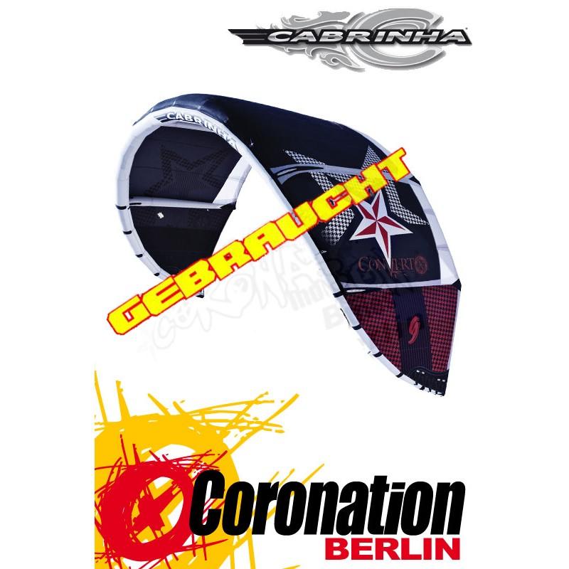Cabrinha Convert 2010 Gebraucht Freeride-Kite 7qm mit Bar