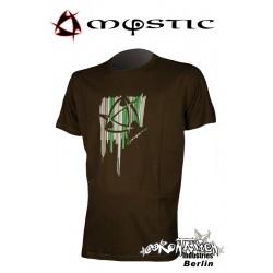 Mystic Shirt Oriental Tee Slate Brown