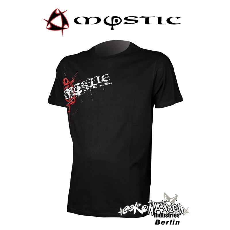 Mystic Shirt Twist Back Tee Caviar