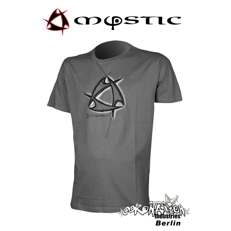 Mystic Shirt Indy Glide Tee Steel Grey
