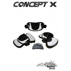 Concept-X Sneak DLX + Kiteboard Pads + Schlaufen Kombination