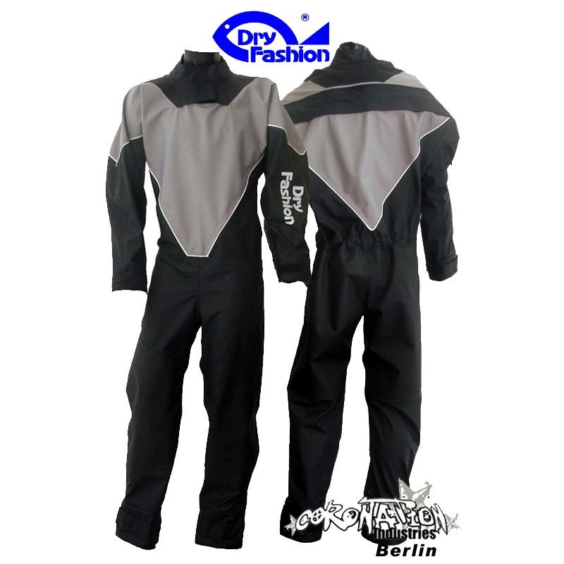 Dry Fashion Kitesurf Trockenanzug Black Performance noir/Grau