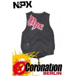 NPX Cult Kite Prallschutz Weste Schwarz