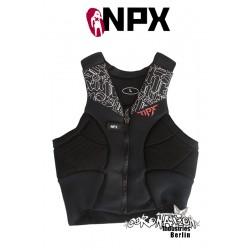 NPX Wraith Kite Weste noir Prallschutz