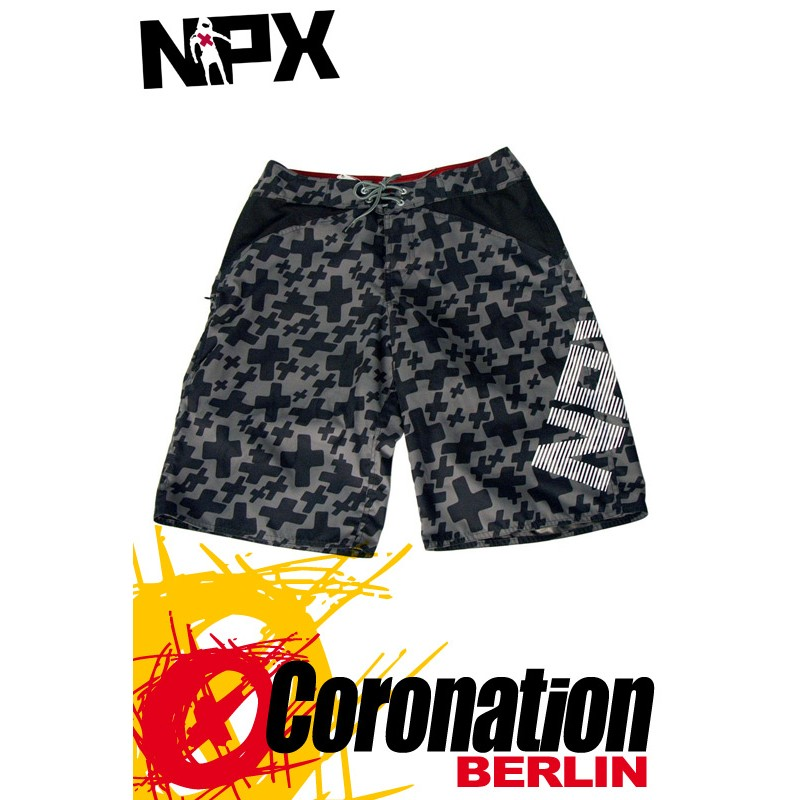 NPX Boardshort Fury für Männer Grey