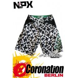 NPX Boardshort Fury pour Männer White
