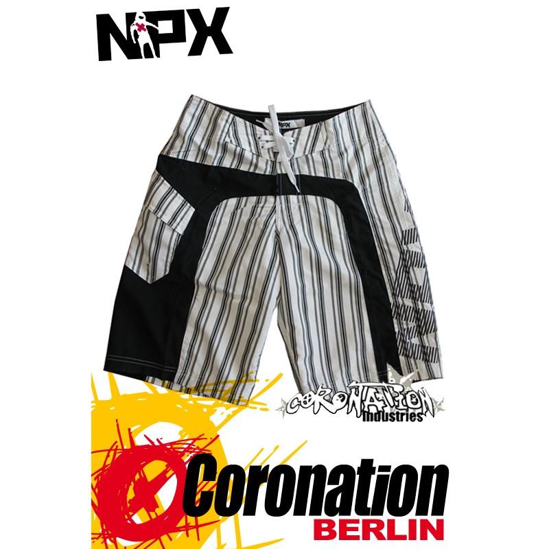 NPX Boardshort pour Männer White