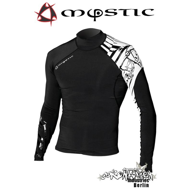 Mystic Crossfire Rash Vest L/S